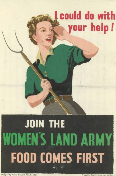 land army girls