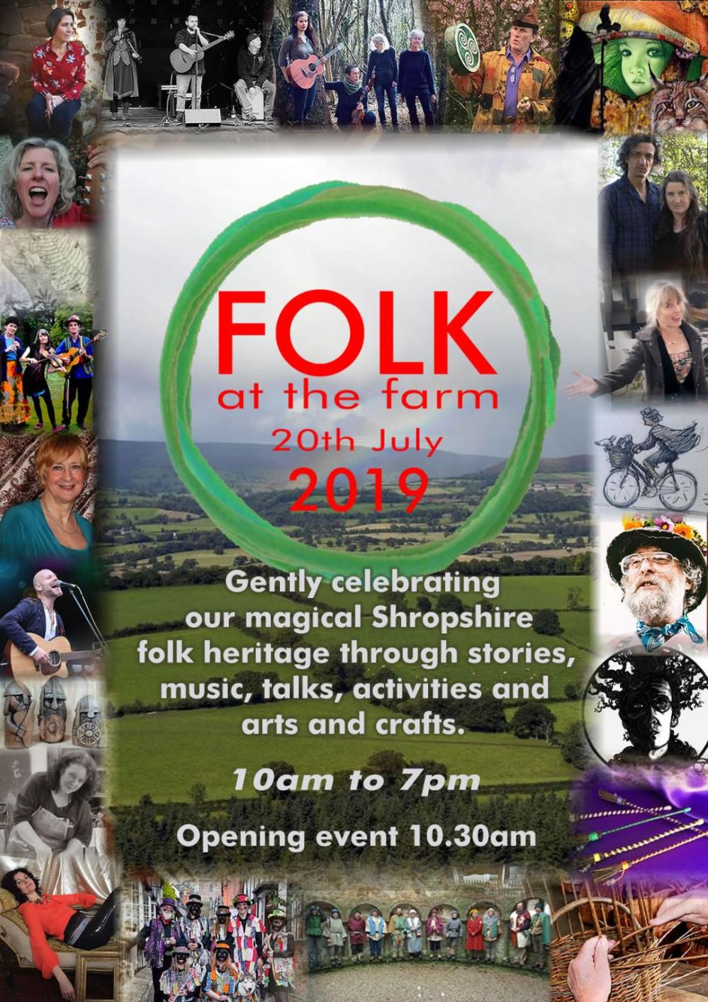 FOLK at the farm festival - celebrating Shropshire Folklore